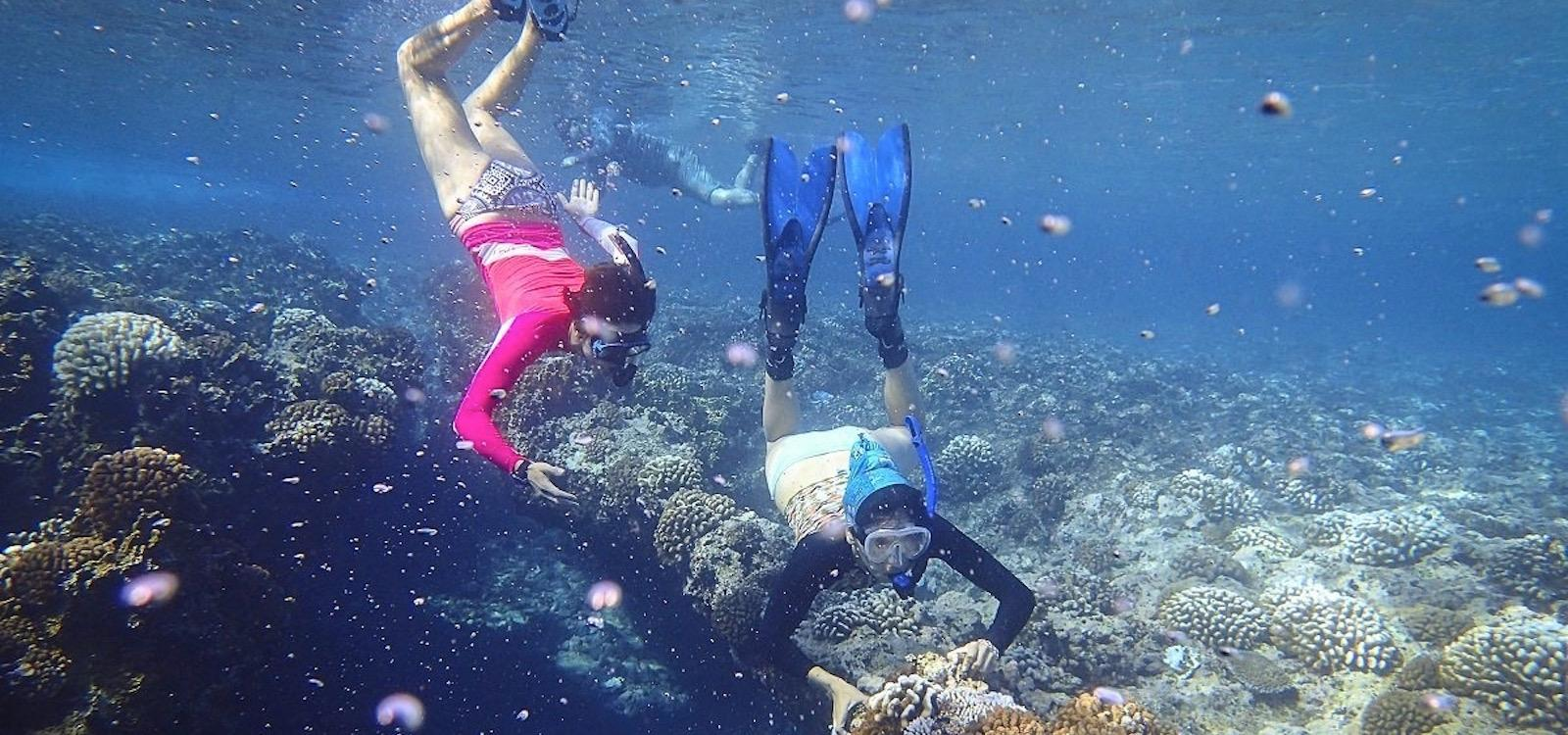 students from Montana study the ocean